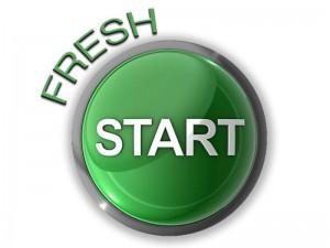 Google Penalty Fresh Start Button